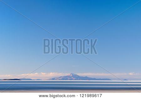 South America -Salar de Uyuni in Bolivia