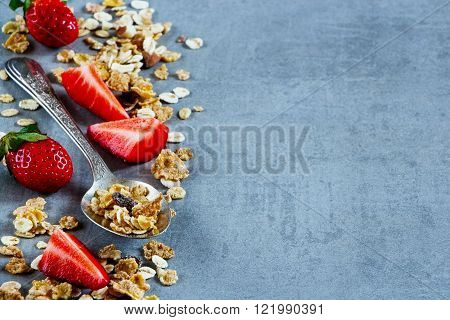 Spoon With Granola