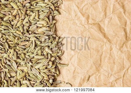 Fennel Dill Seeds Border Frame