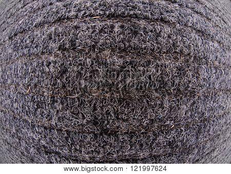 Office carpet texture close up pattern fish eye lens