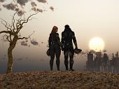 foto of post-apocalypse  - post Apocalypse couple - JPG