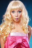 stock photo of bimbo  - Doll - JPG