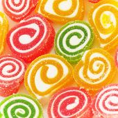 image of sugar paste  - Colorful fruit - JPG