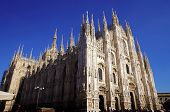 stock photo of milan  - facade of Duomo - JPG