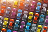 Постер, плакат: Colorful Cars Inventory