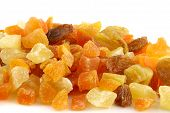 Dried Summer Fruits - Close Up poster