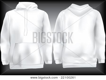 Jacket Or Sweatshirt  Or Hoodie Template