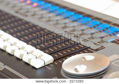 Licht und Sound Board
