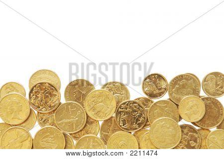 Border Of Australian Coins