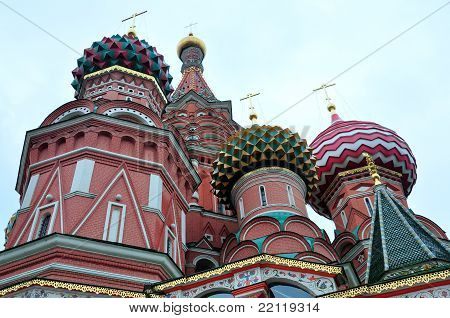 Cupolas - St. Basil's Cathedral
