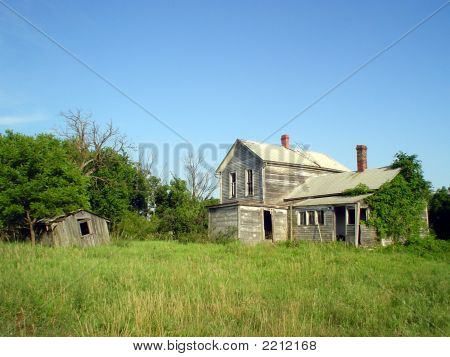 Abandoned Kansas Farm