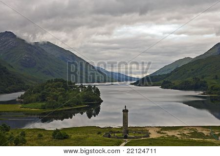 Glenfinnan Monument at Loch Shiel