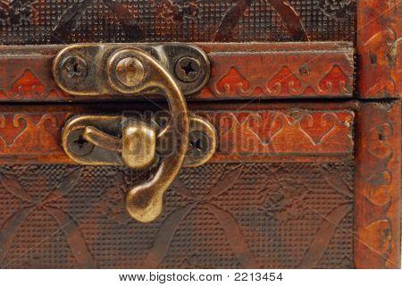 Cerradura de pecho de tesoro