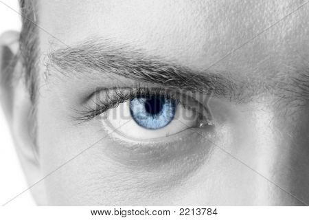 Man\'s eye