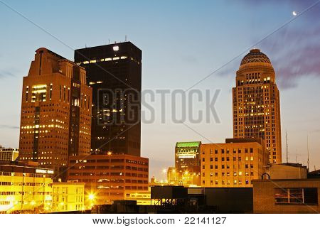 Early Morning In Louisville, Kentucky