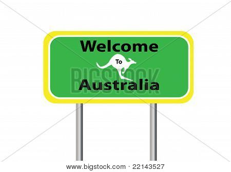 Welcome Australia White