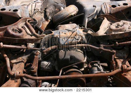 Rusty Car Parts
