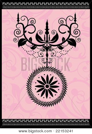 Stock Vector Illustration: Decoration item