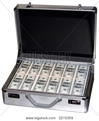 One Million Dollars In A Suitcase