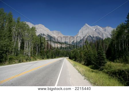 Road In Rockies