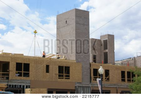 New Commercial Building Under Construction.