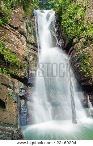 La Mina Falls, Puerto Rico