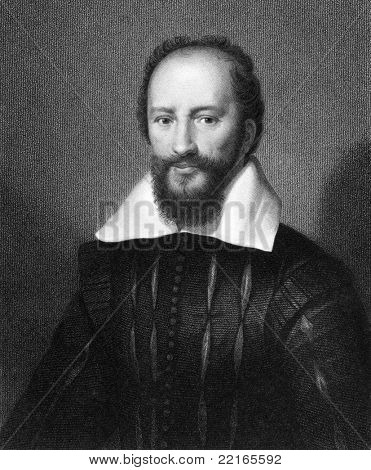 Maximilien de Bethune, duc de Sully (1560-1641). Engraved by W.Holl and published in The Gallery Of Portraits With Memoirs encyclopedia, United Kingdom, 1833.