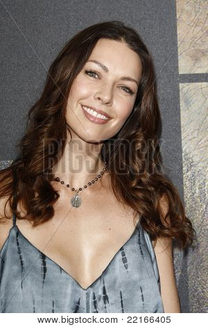 LOS ANGELES, CA - JUL 28: Louise Griffiths at the Premiere of 'Rise of the Planet of the Apes' at Grauman's Chinese Theatre on July 28, 2011 in Los Angeles, California