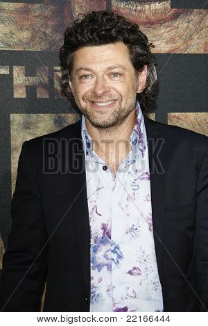 LOS ANGELES, CA - JUL 28: Andy Serkis at the Premiere of 'Rise of the Planet of the Apes' at Grauman's Chinese Theatre on July 28, 2011 in Los Angeles, California