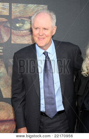 "LOS ANGELES - JUL 28:  John Lithgow arriving at the ""Rise of the Planet of the Apes"" Los Angeles Premiere at Grauman's Chinese Theater on July 28, 2011 in Los Angeles, CA"
