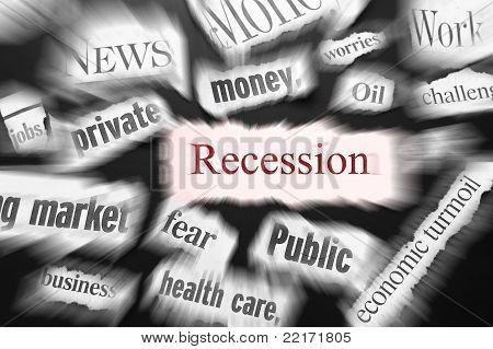Recession news