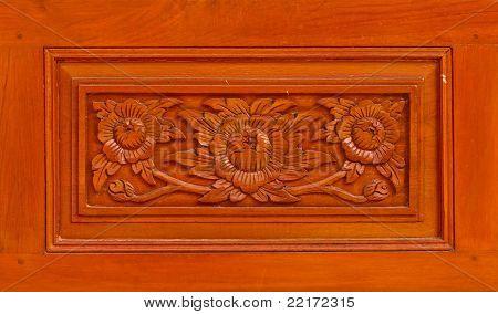 Thai Style Wooden Craft
