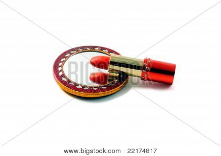 Lipstick And A Mirror