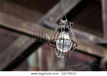 old light bulb