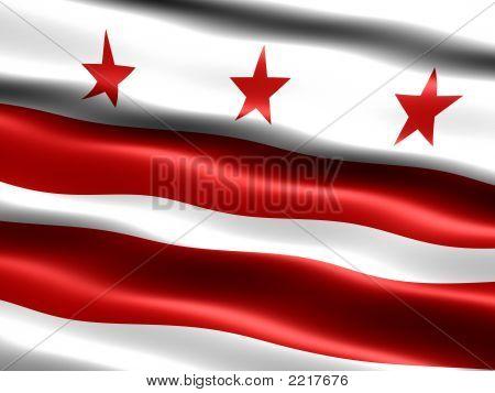 Flag Of Washington D.C.