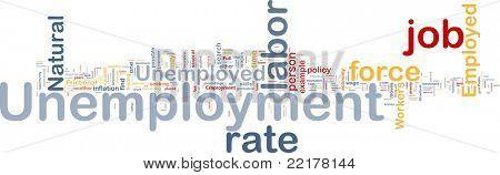 Background concept illustration unemployment job labor