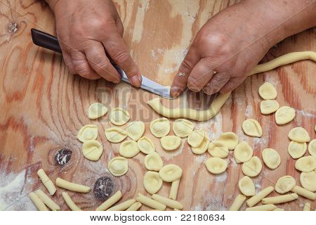 Orecchiette Pasta Homemade