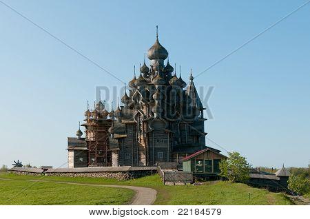 Lugar sagrado. Isla Kizhi