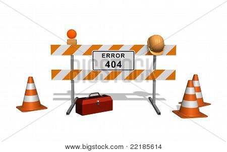 Error 404. Site Under Construction