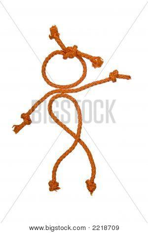 Distribuidor da figura do povo de corda