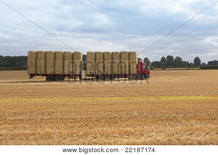 Transporting Straw
