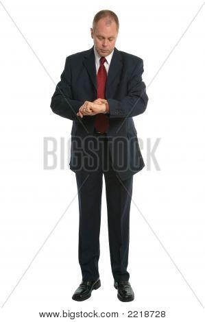 Businessman Timecheck