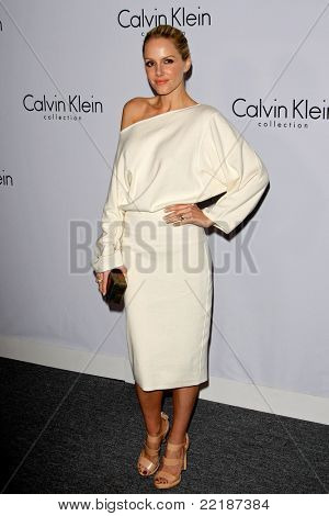 LOS ANGELES, CA - JAN 28: Monet Mazur at Calvin Klein Collection & Los Angeles Nomadic Division 1st Annual Celebration on January 28, 2010 in Los Angeles, California
