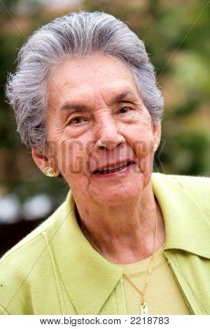 Ehemaliger Frau glücklich