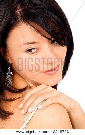 Beauty And Fashion Portrait