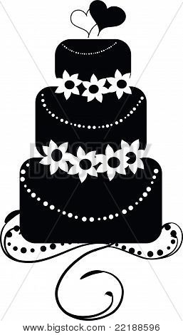 Wedding Cake - rund