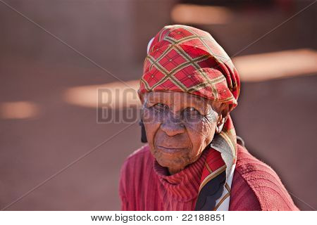 Old African Woman