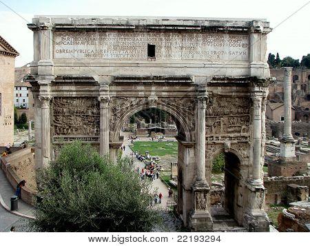 Arch of Septimius Severus - Rome
