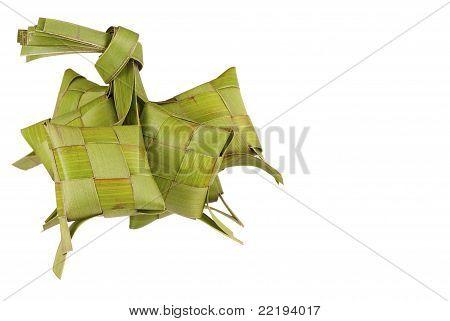 Freshly Weaved Ketupats