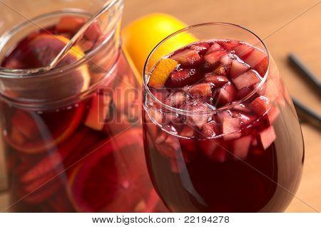 Sangría refrescante